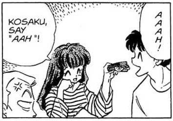 Kosaku är lätt att fresta