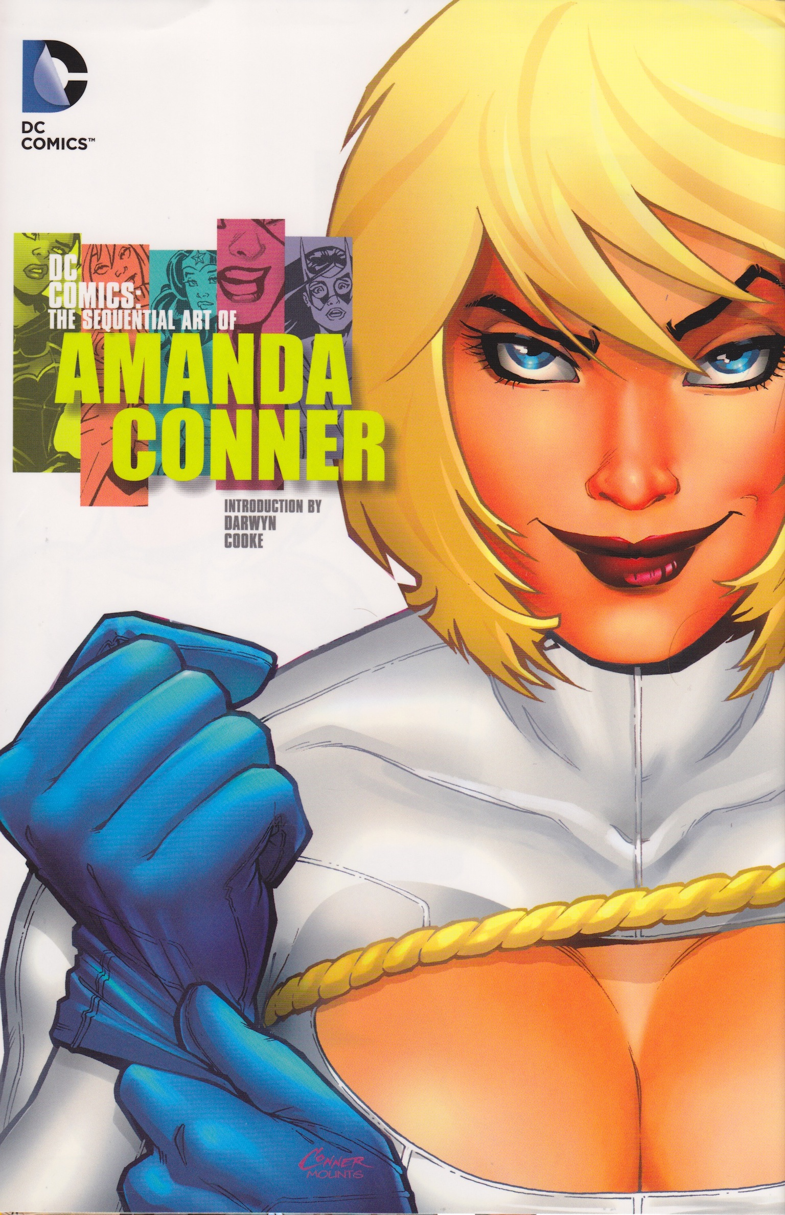 The Sequential Art of Amanda Conner cover