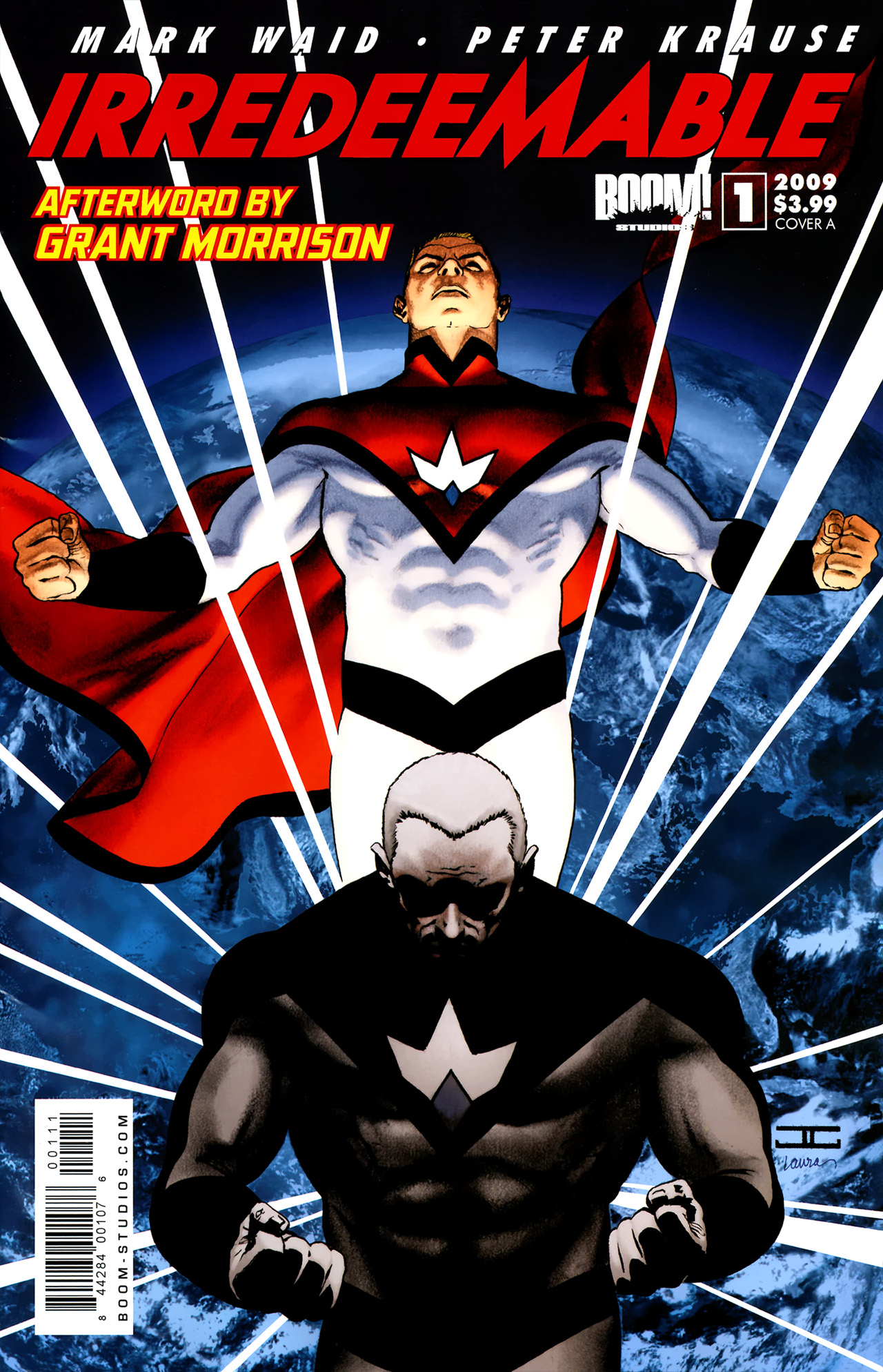 Irredeemable 1 cover