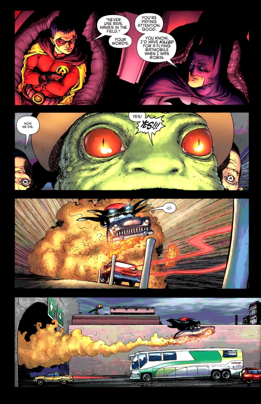 Batman and Robin - Dick Grayson & Damian