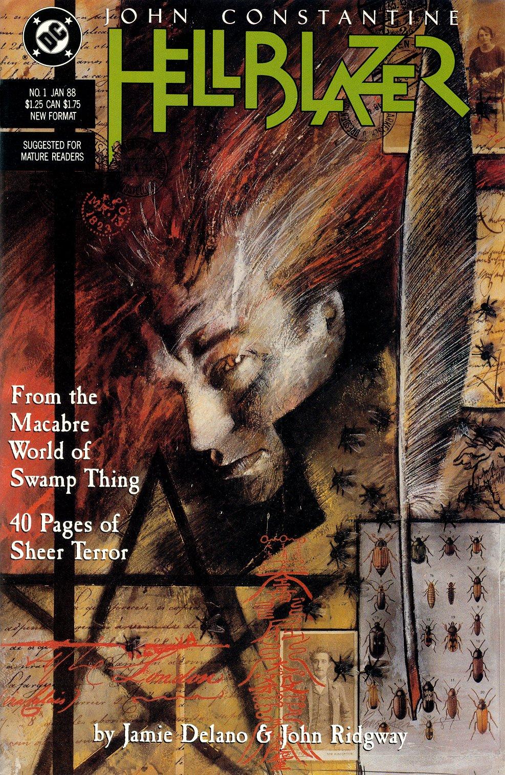 Hellblazer 1 cover