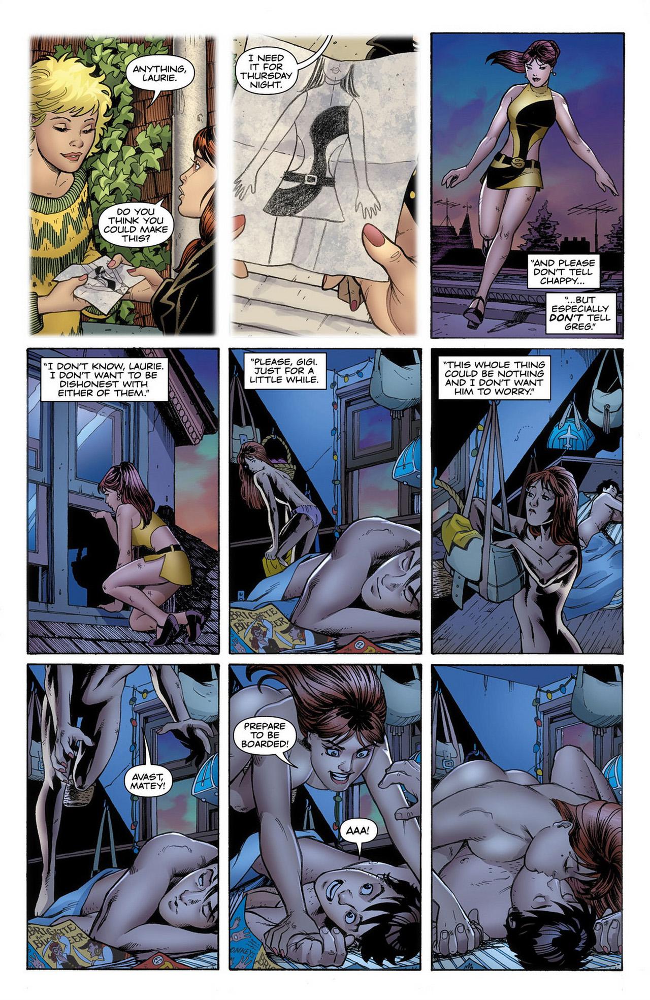 Before Watchmen - Silk Spectre