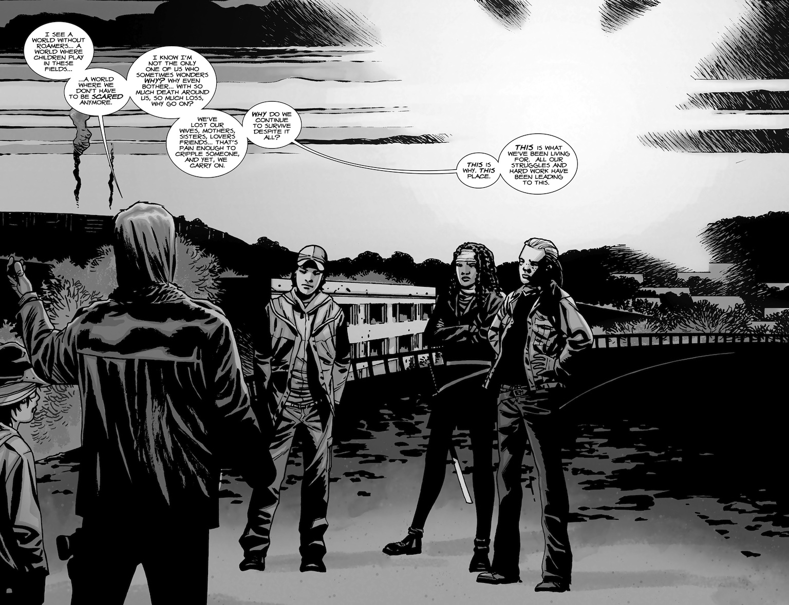 The Walking Dead 96 - Speech