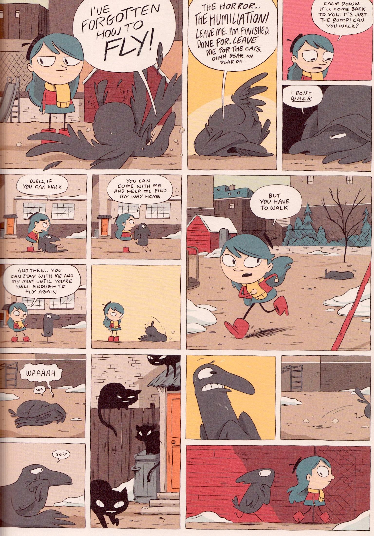 Hilda and the Bird Parade - Bird