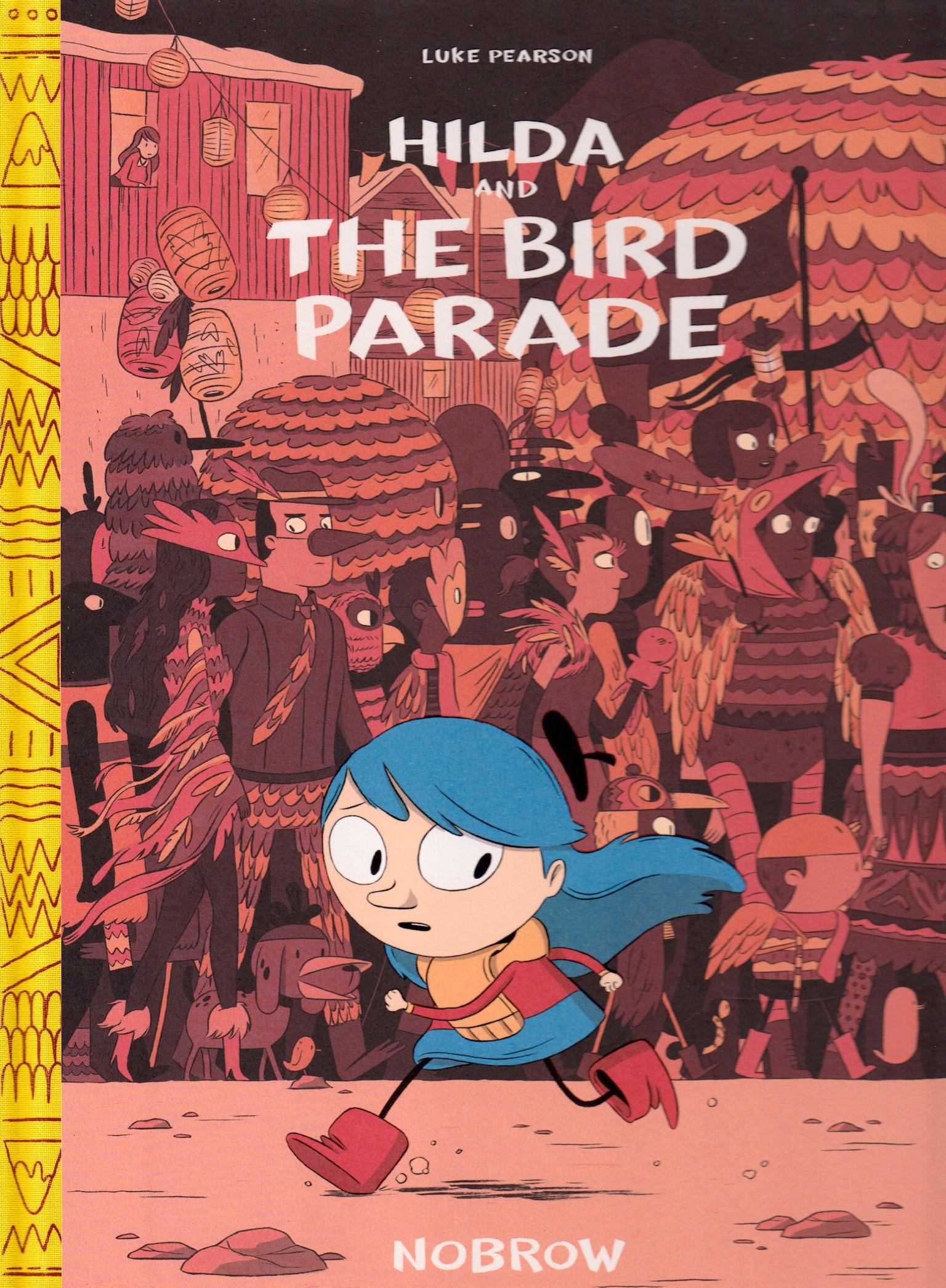 Hilda and the Bird Parade cover