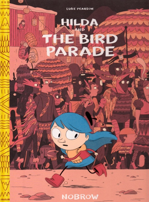 Hilda and the Bird Parade cover