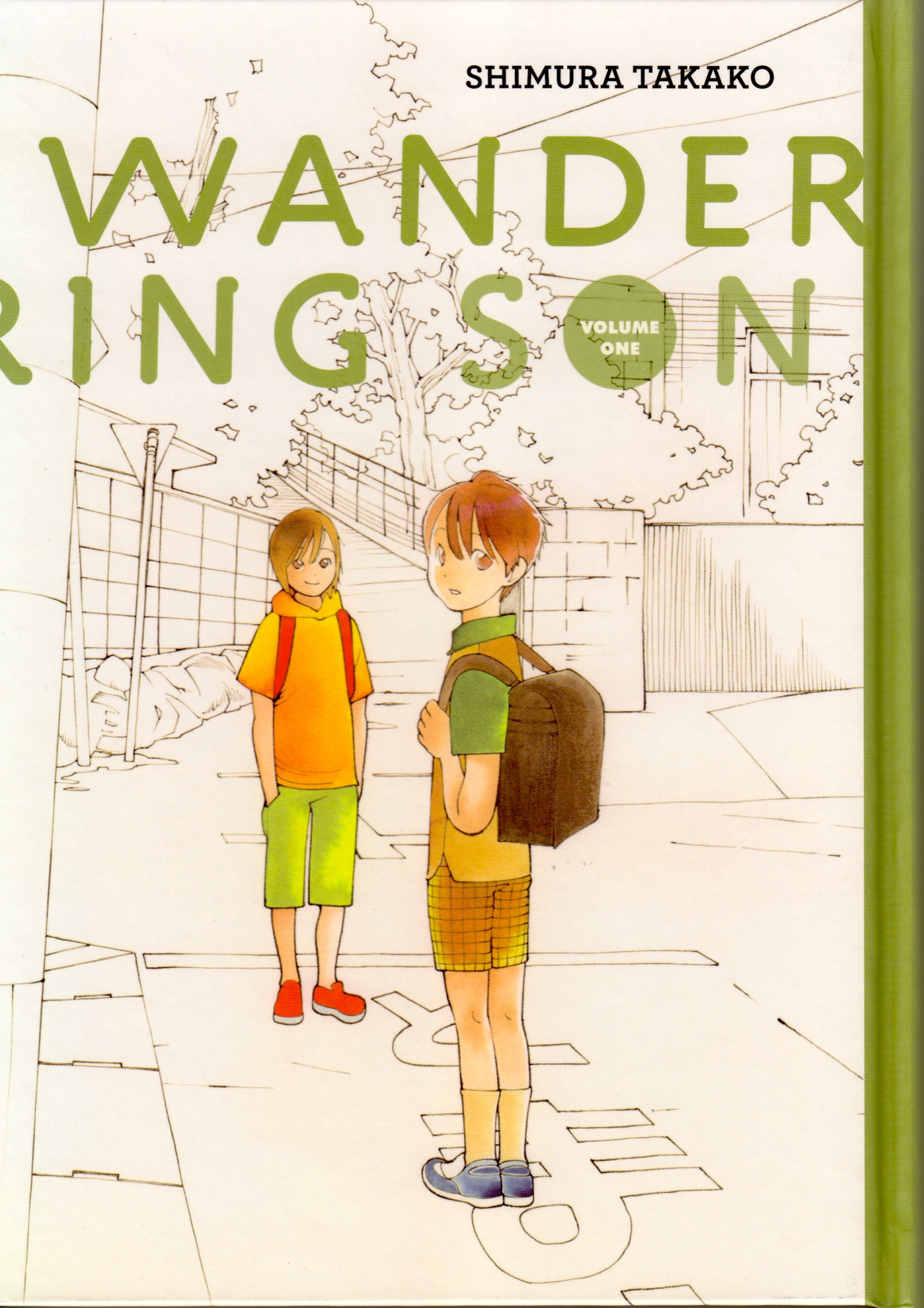 Wandering Son 1 cover