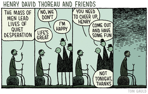 You're All Just Jealous of My Jetpack cartoonsHenry David Thoreau