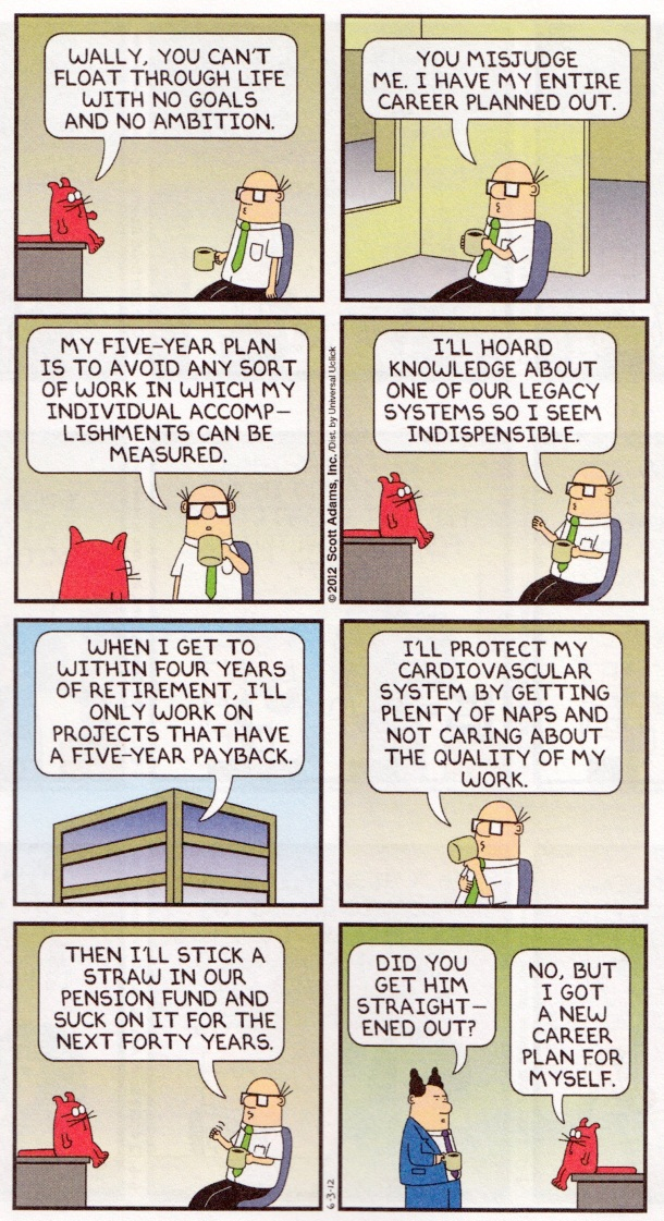 Dilbert 40 - Wally