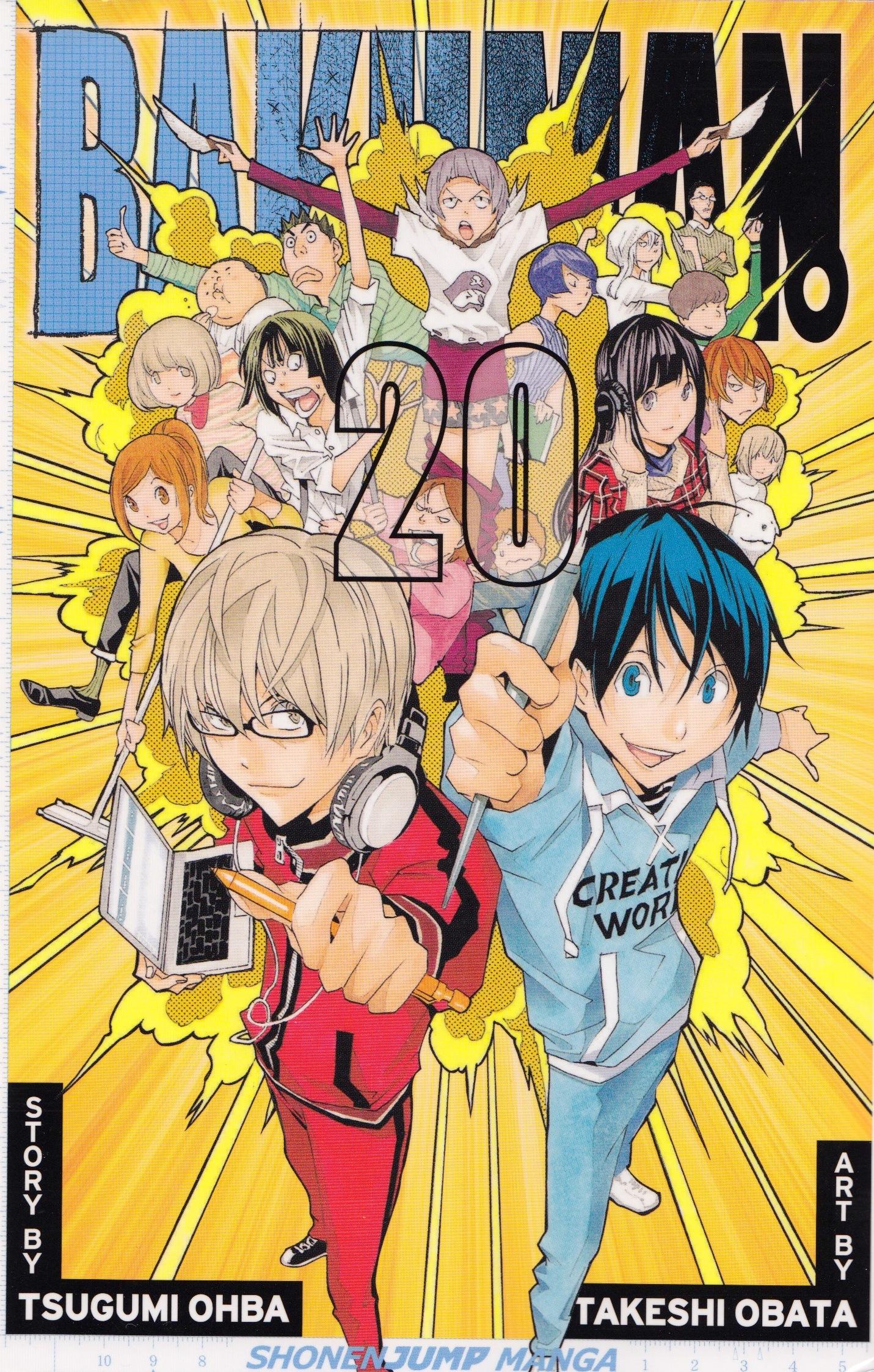 Bakuman 20 cover