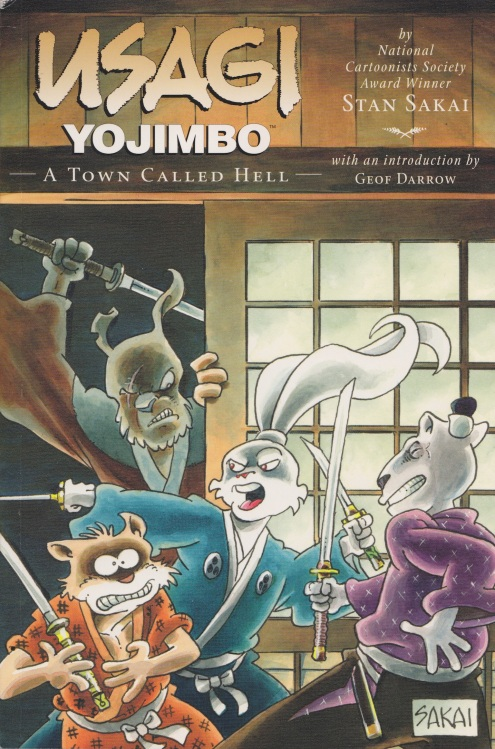 Usagi Yojimbo Book 27 cover
