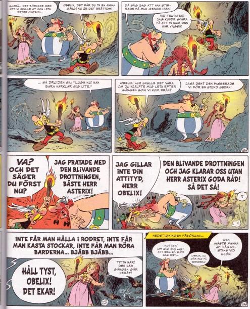 Asterix och pikterna - Gräl