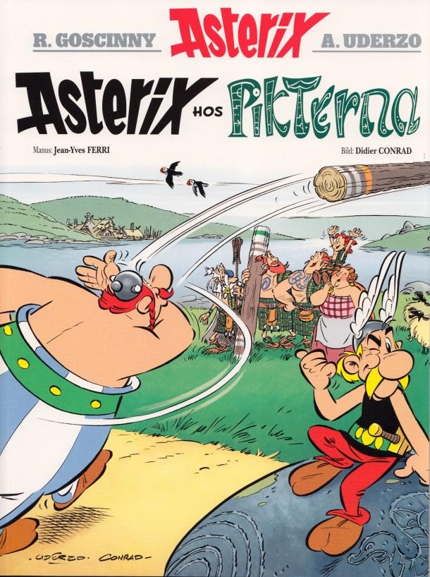 Asterix och pikterna - Omslag