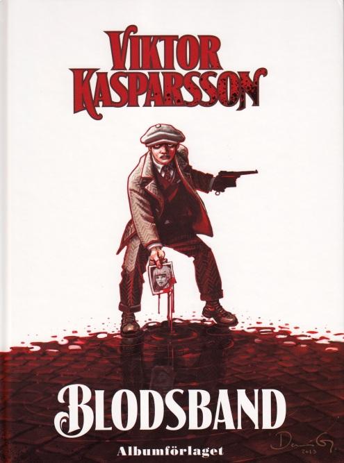 Viktor Kasparsson Blodsband - Omslag