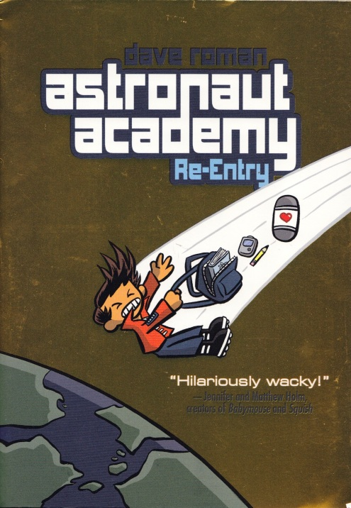 Astronaut Academy Re-Entry - Cover