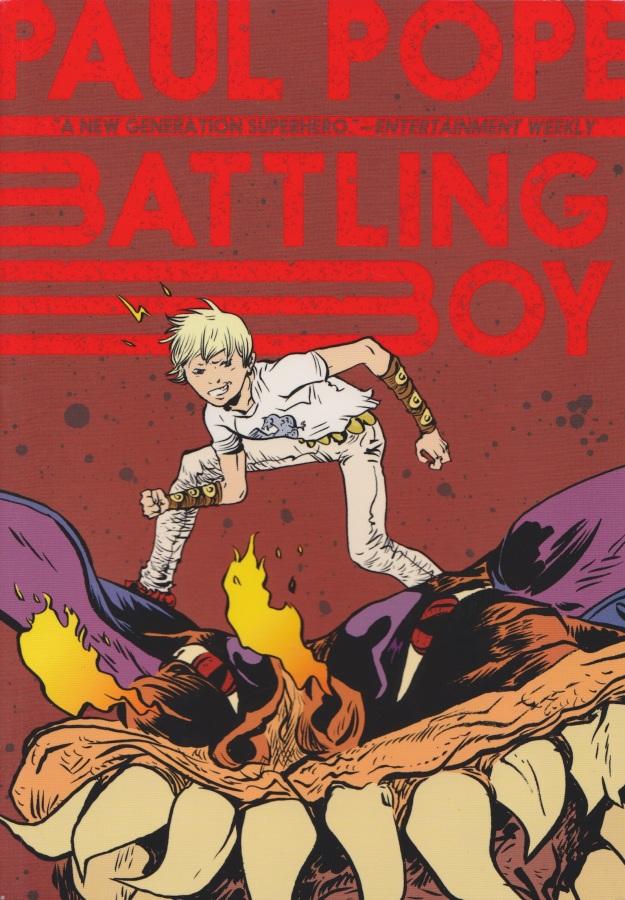 Battling Boy - Cover