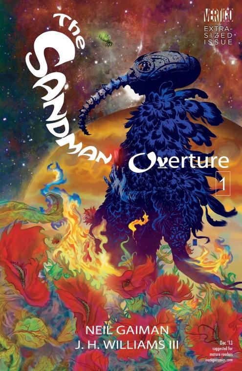 The Sandman Overture 1 - Cover