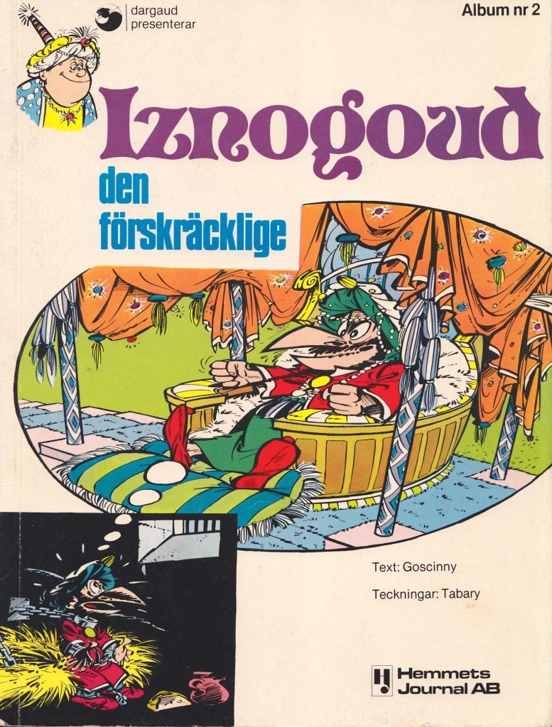 Iznogoud - Omslag