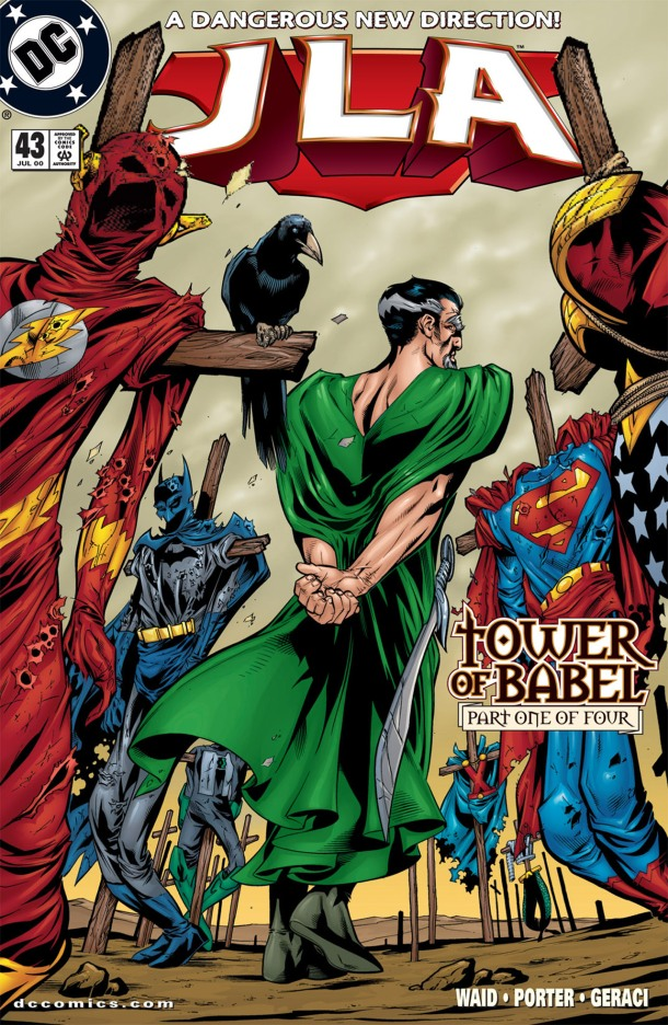 Tower of Babel - Cover JLA 43