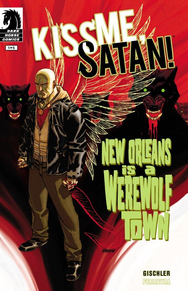 Kiss Me, Satan! - Cover