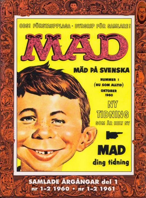MAD - Samlade årgångar - Omslag