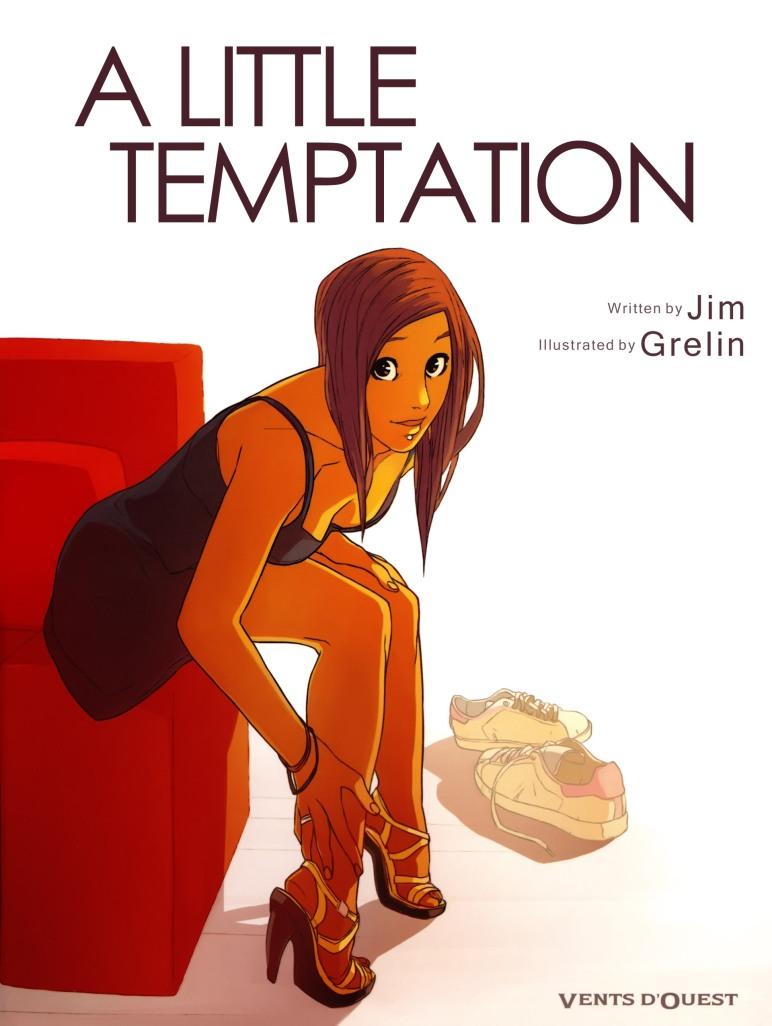 A Little Temptation - Cover