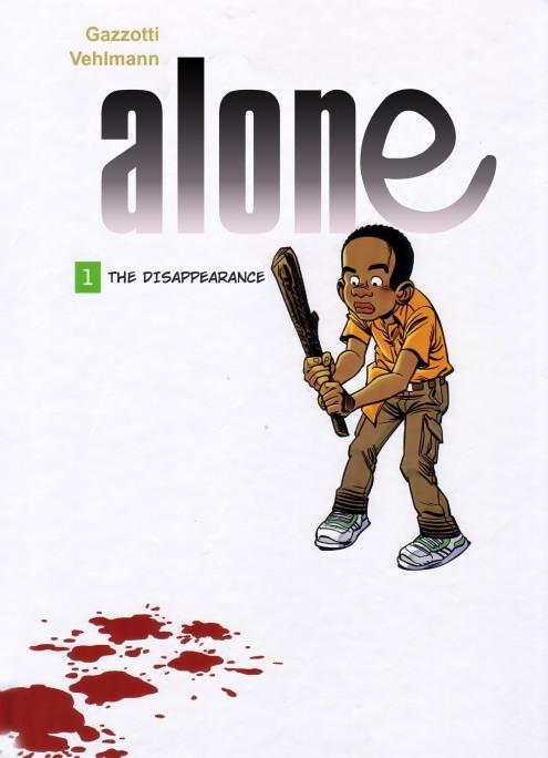 Alone 1 - cover
