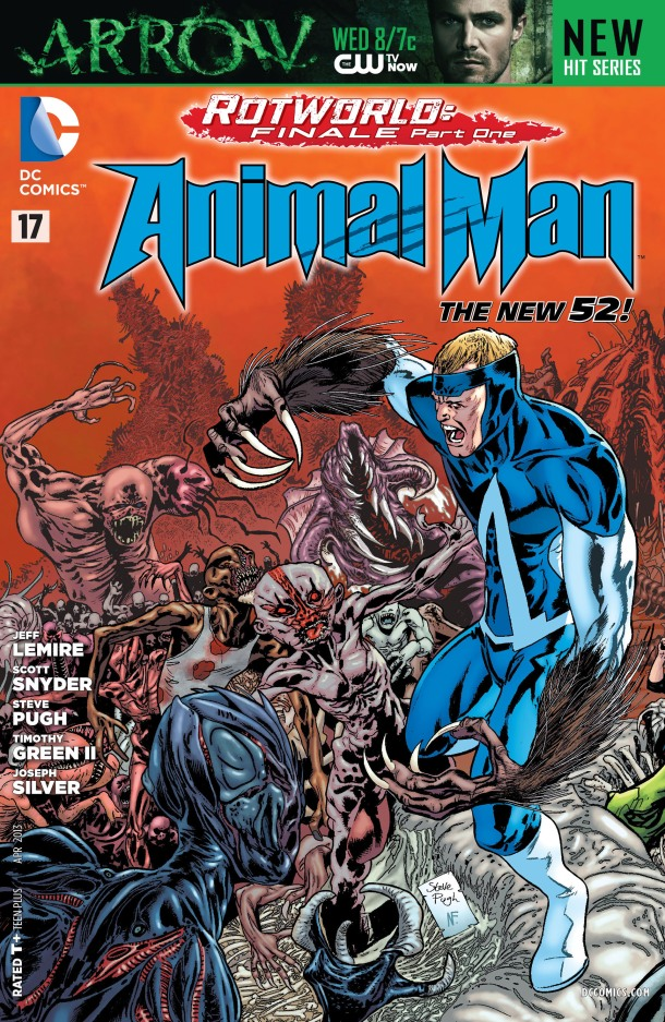 Animal Man 17 - cover
