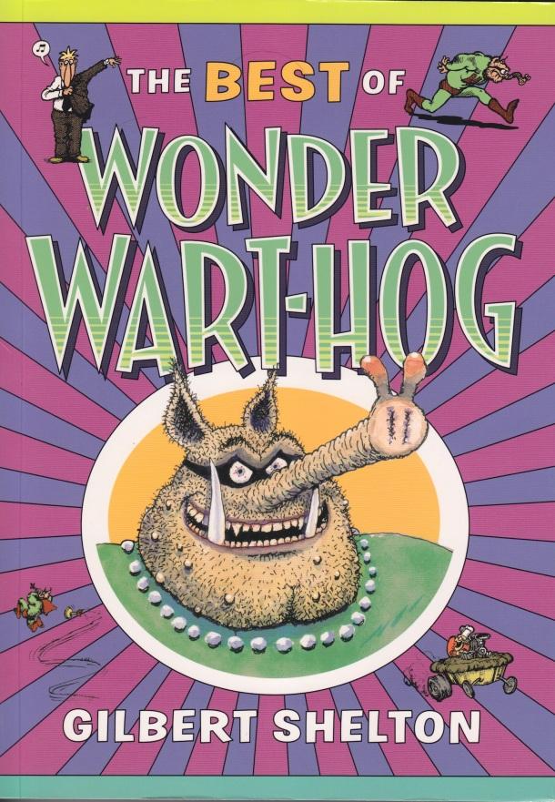 Best of Wonder Wart-Hog - Cover