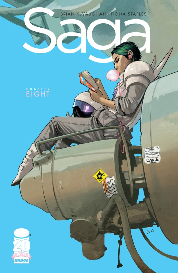Saga 8 - Cover