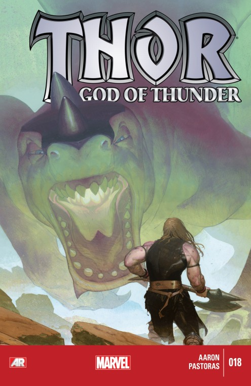Thor - God of Thunder - Cover 18