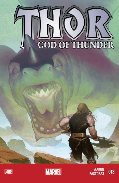 Thor - God of Thunder - Cover 18
