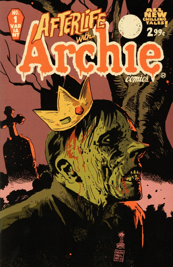 Afterlife with Archie 1 - cover
