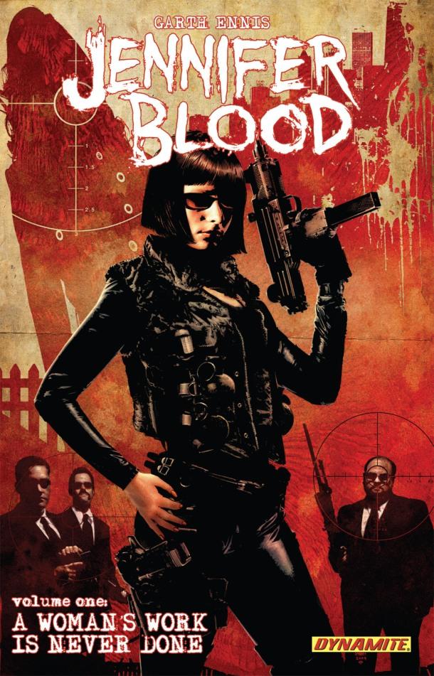 Jennifer Blood 001 - cover
