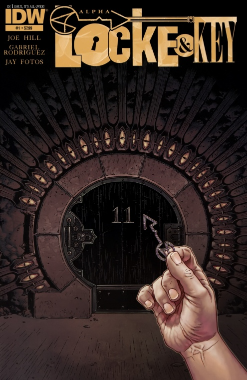 Locke & Key - Alpha 1 cover