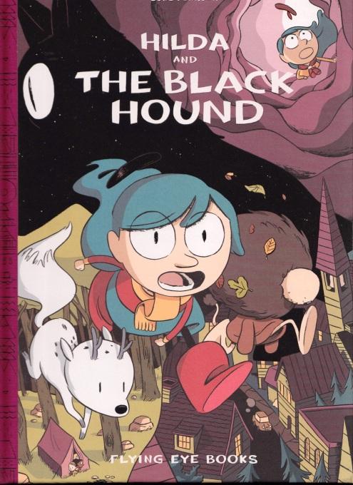 Hilda and the Black Hound - cover