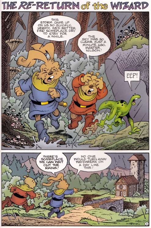 Nilson Groundthumper and Hermy - last