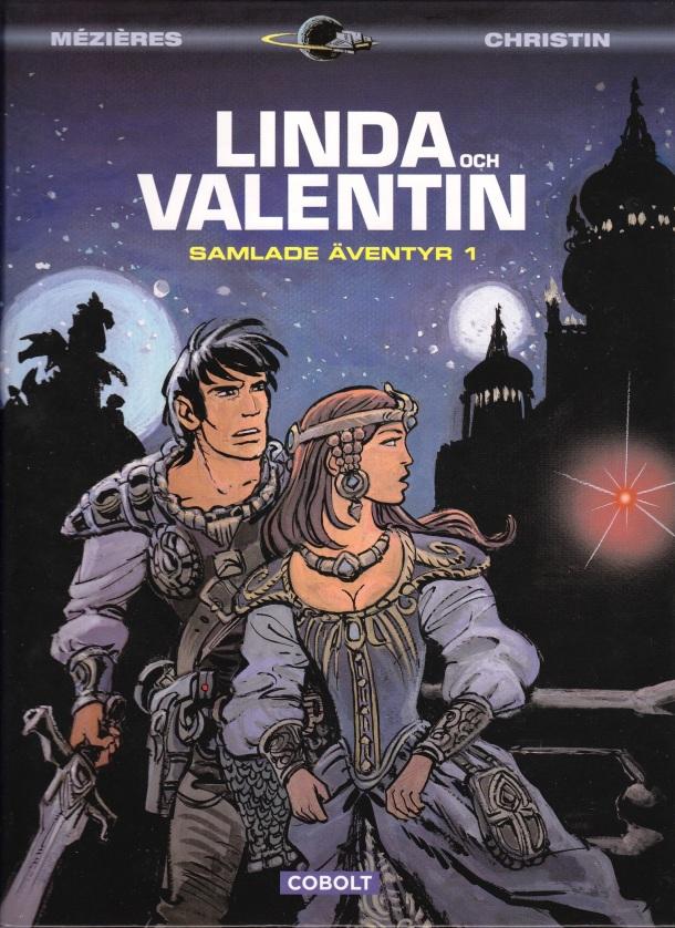 Linda och Valentin Samlade äventyr 1 - omslag