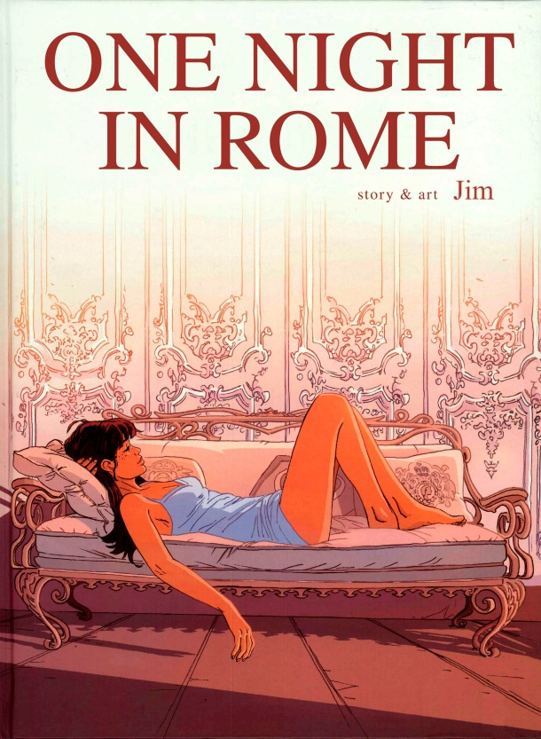 One Night in Rome - cover