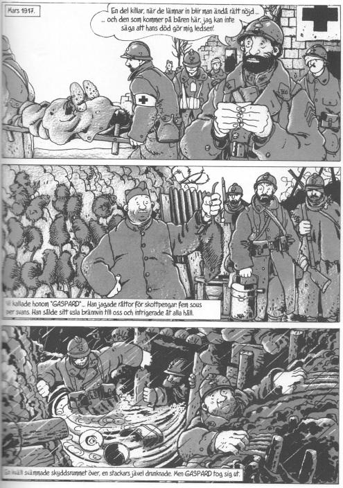 Skyttegravskriget - Gaspard