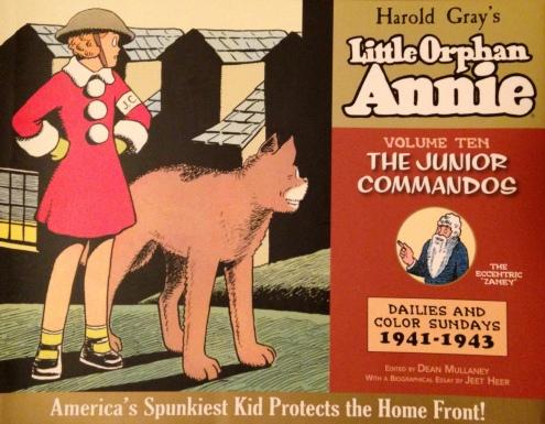 Little Orphan Annie 10 - cover