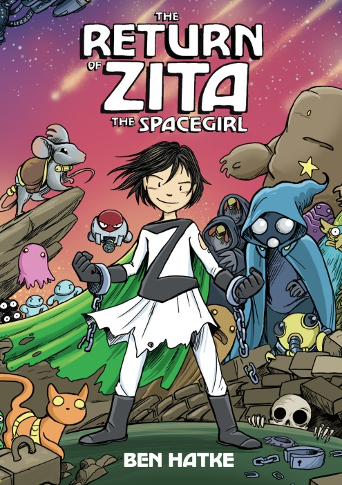 The Return of Zita the Spacegirl - cover