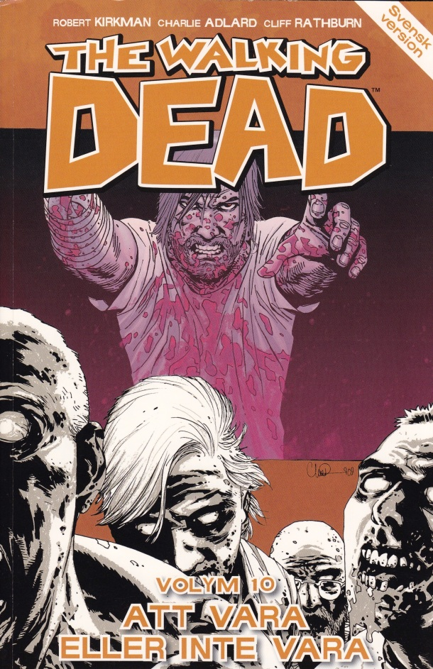 The Walking Dead 10 - omslag