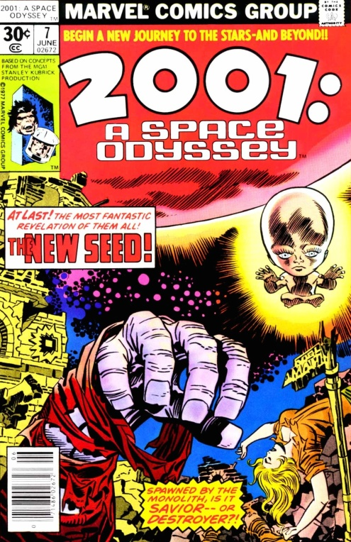 2001 A Space Odyssey - cover