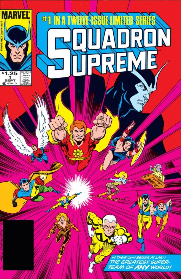 Squadron Supreme 1 - cover