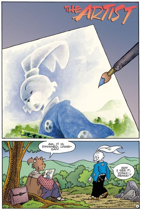 Usagi Yojimbo Color Special 05 - The Artist