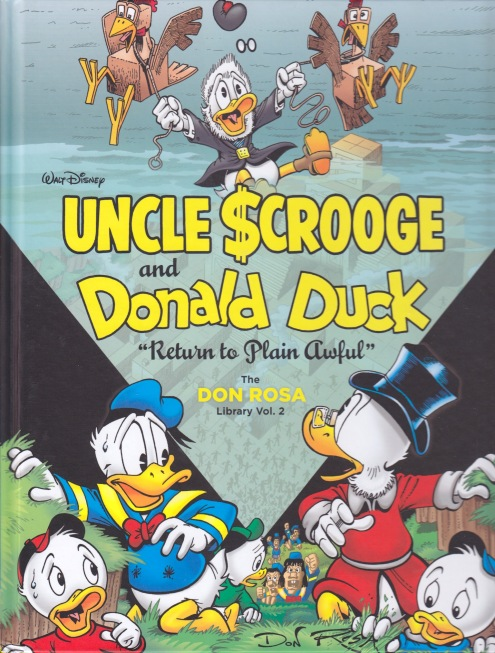 The Don Rosa Library - cover
