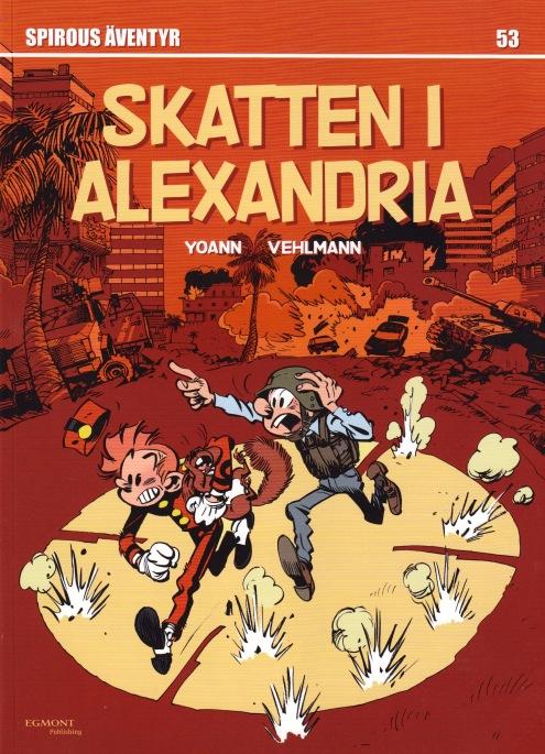 Skatten i Alexandria - omslag