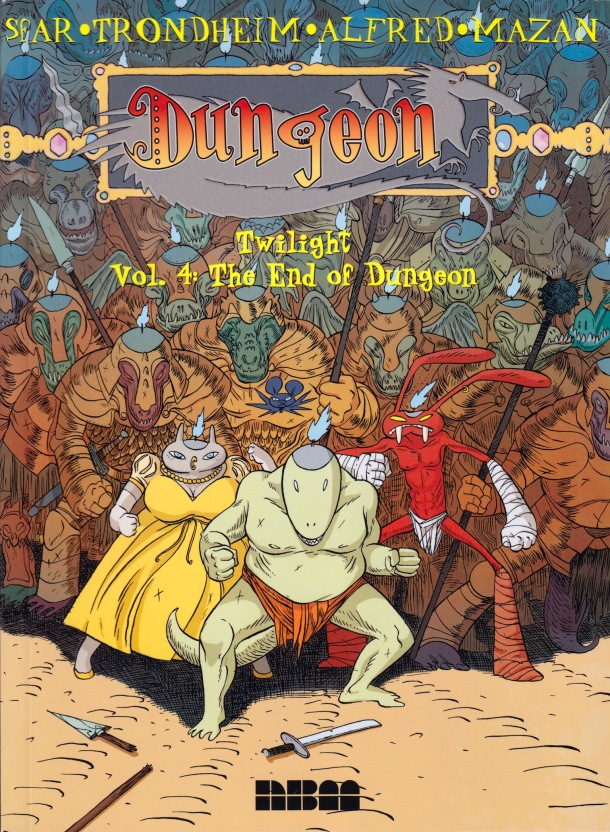 Dungeon - The End of Dungeon - cover