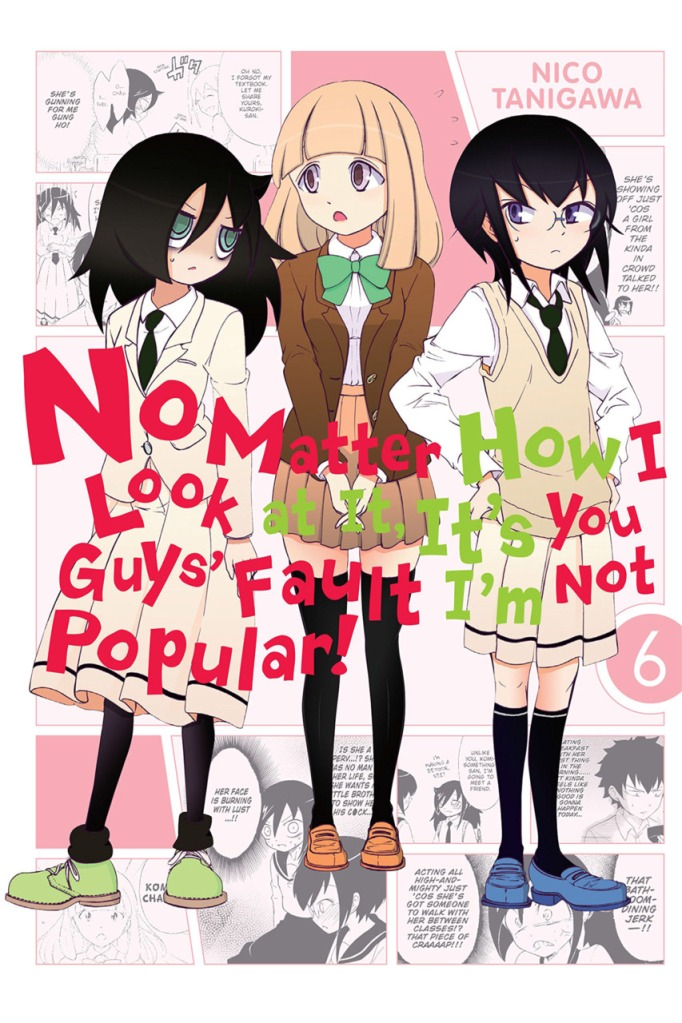 No Matter How I Look at It, It's You Guys' Fault I'm Not Popular! - cover